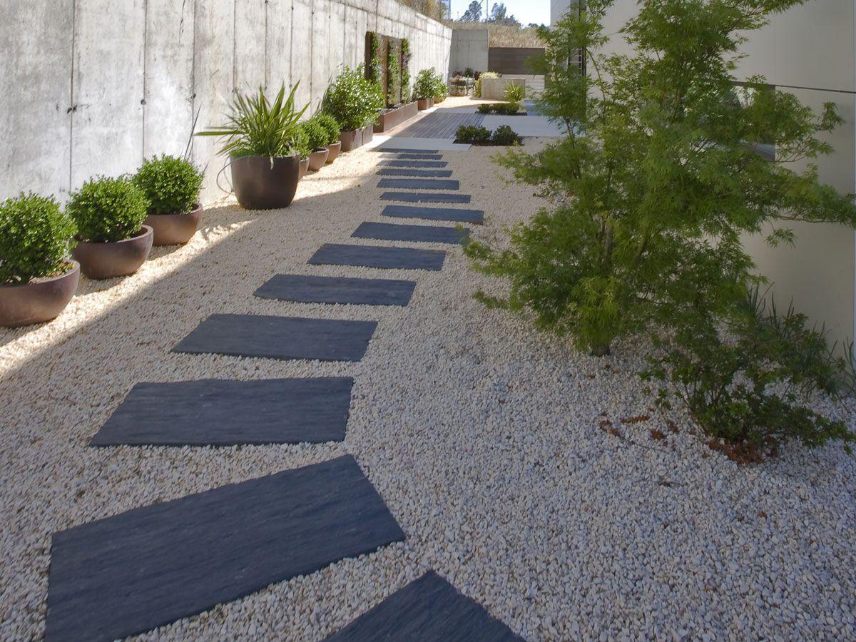 Camino De Pizarra Negra En 2019 Jardins Et Terrasse