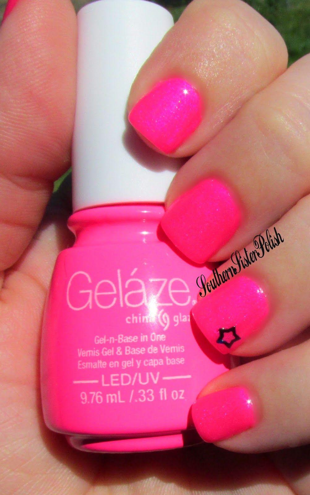 Southern Sister Polish: Pink Voltage Gelaze | nails | Pinterest ...