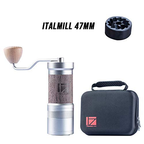 Italmill 47mm Dlc Coated Burr High Quality 47mm Italmill Dlc Coated High Carbon Steel Burr Makes Grin In 2020 Manual Coffee Grinder Coffee Grinder Coffee Accessories