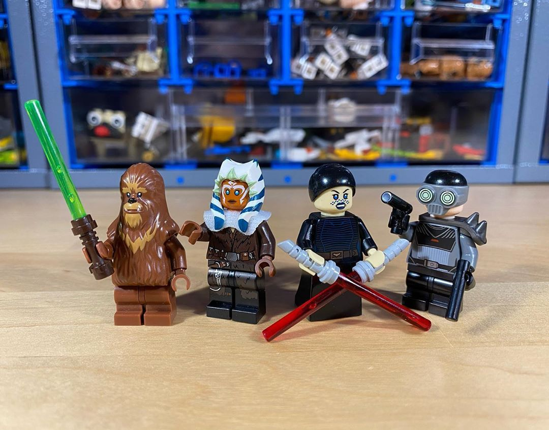 Florian H On Instagram And With This Last Batch My Clone Wars Minifigure Series Concludes Here S Part 6 Out Of 6 Youngli Clone Wars Youngling Ahsoka Tano Gungi was a male wookiee jedi youngling who was training to become a jedi in the jedi order during the clone wars. clone wars minifigure series concludes