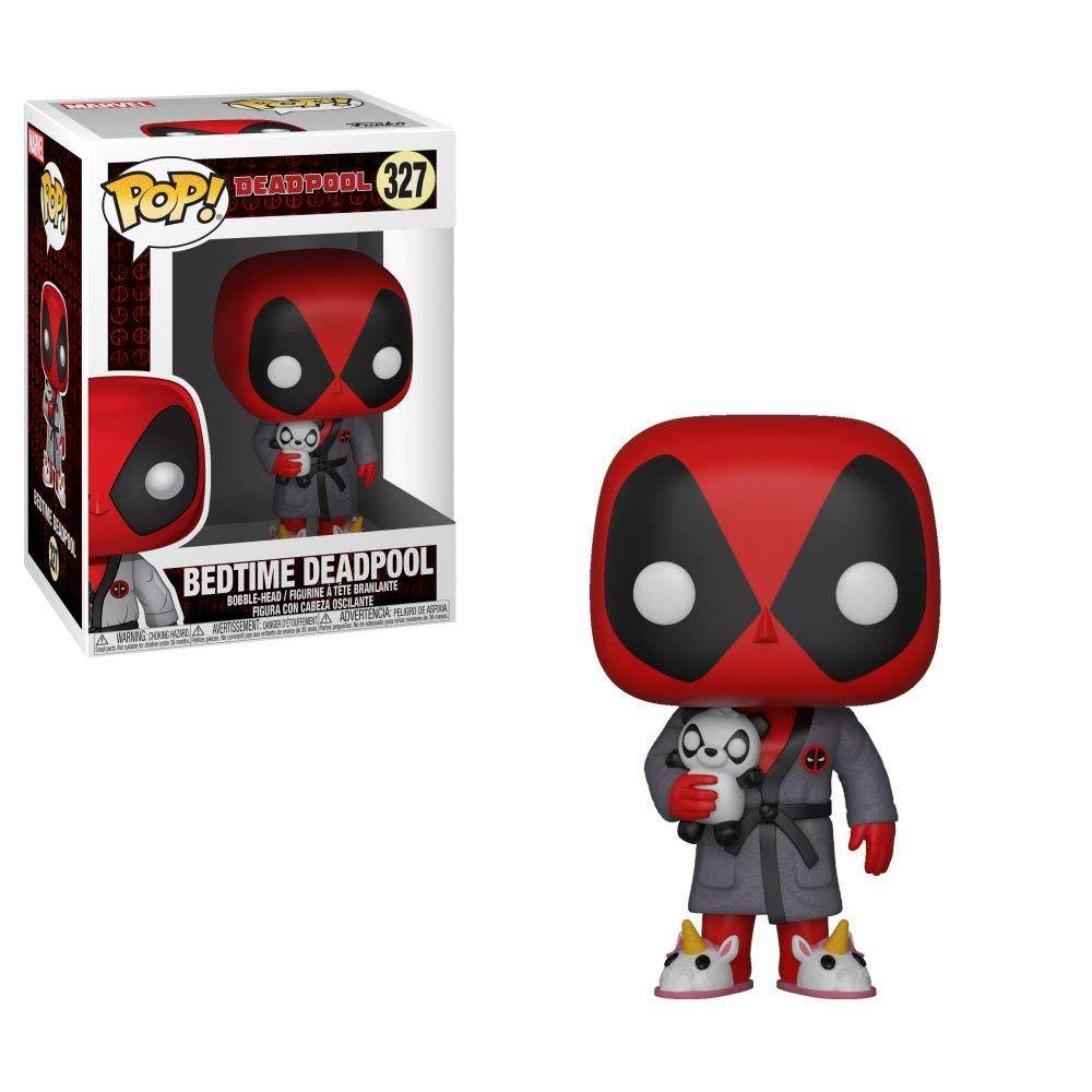 Funko Pop Marvel Deadpool Playtime Deadpool In Robe Deadpool Funko Pop Deadpool Pop Funko Pop Marvel