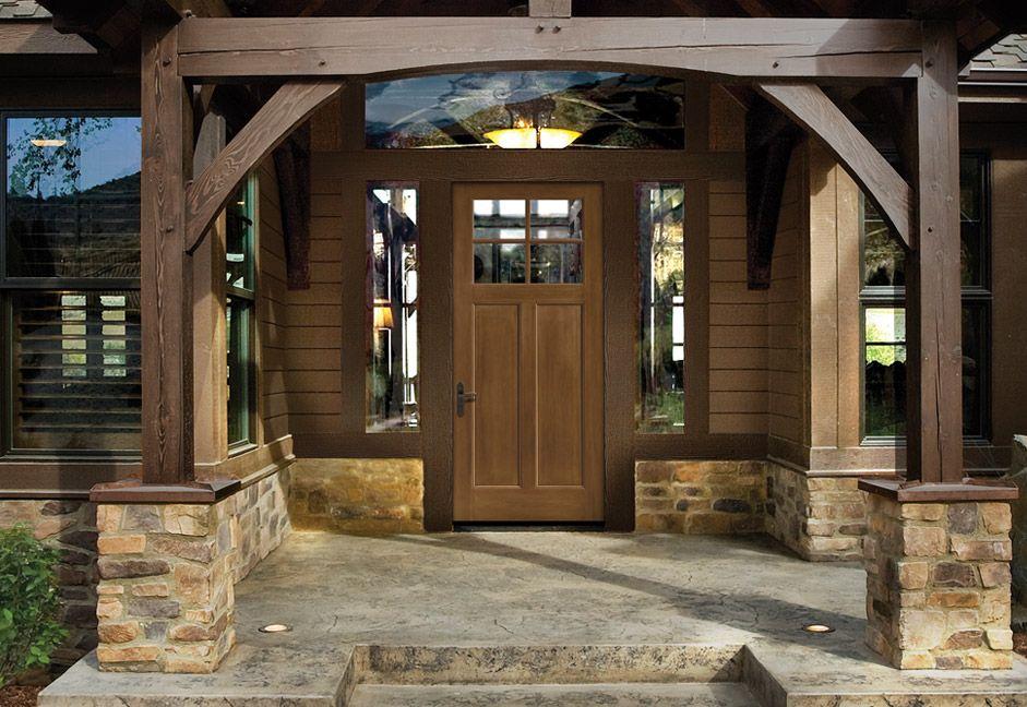 Home Begins with the Door ThermaTru Fiberglass entry