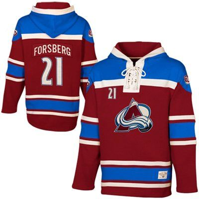 info for be447 d5109 Old Time Hockey Peter Forsberg Colorado Avalanche Alumni ...