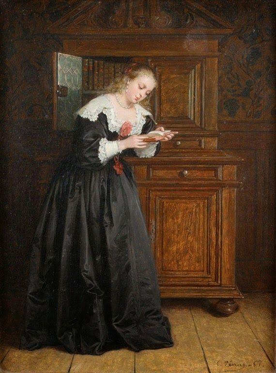 Charles Francois Pecrus (1826-1907) France