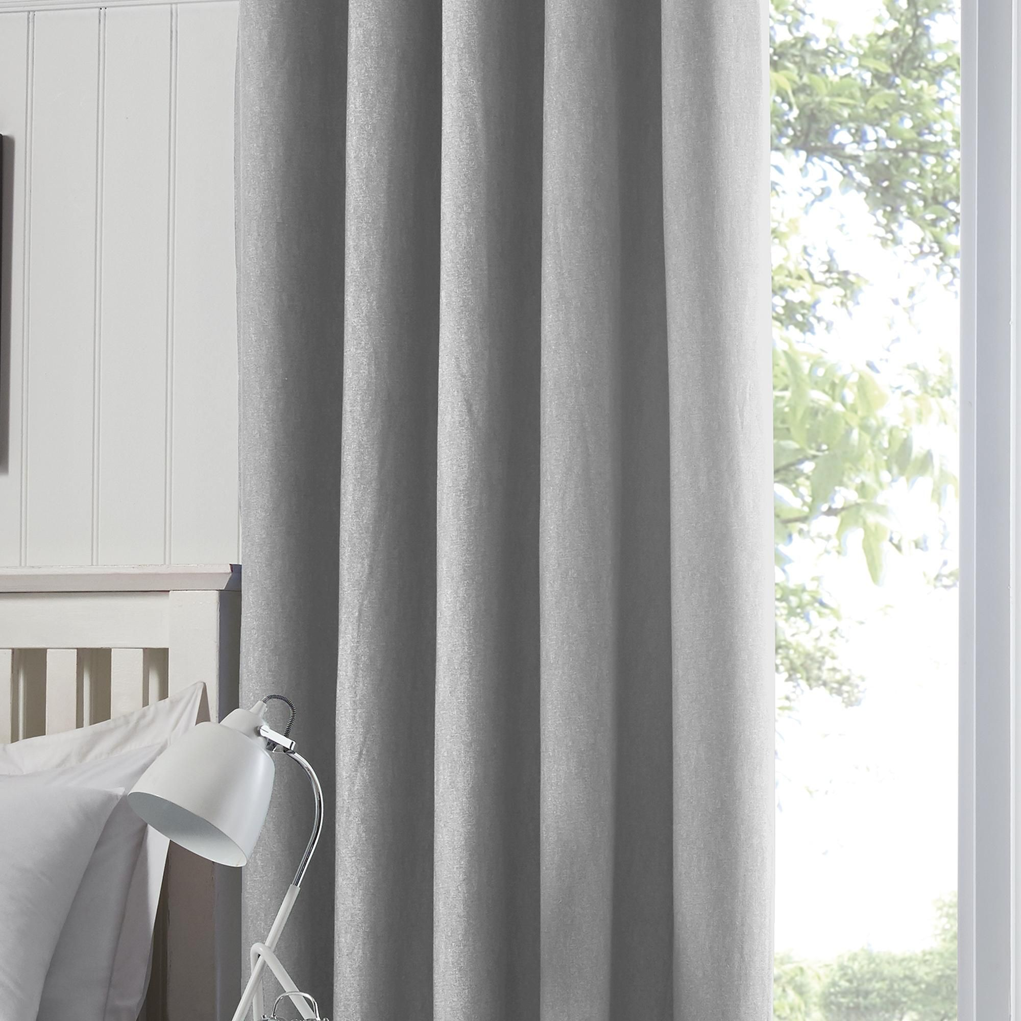 Argos Home 117 x 183cm Blackout Eyelet Curtains Blush