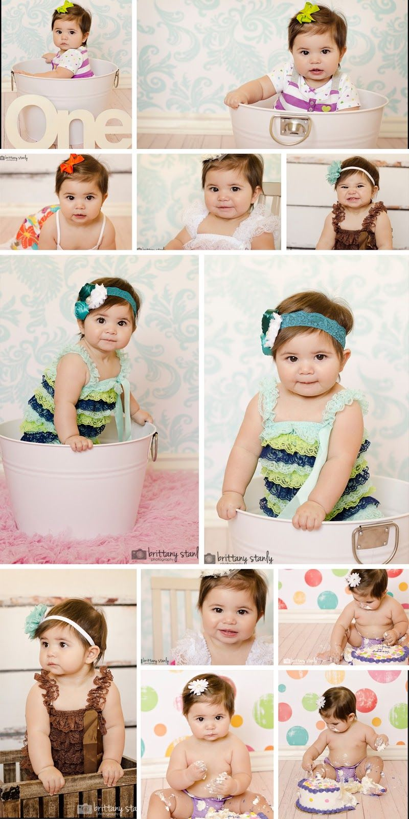 1st Birthday Photography Idaho Falls child photography Baby photography  Cake Smash photography