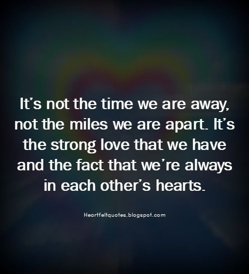 When Two Hearts Are Meant For Each Other, No Distance Is