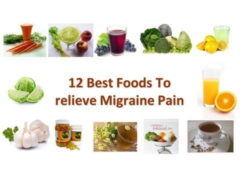 what can i eat on migraine diet