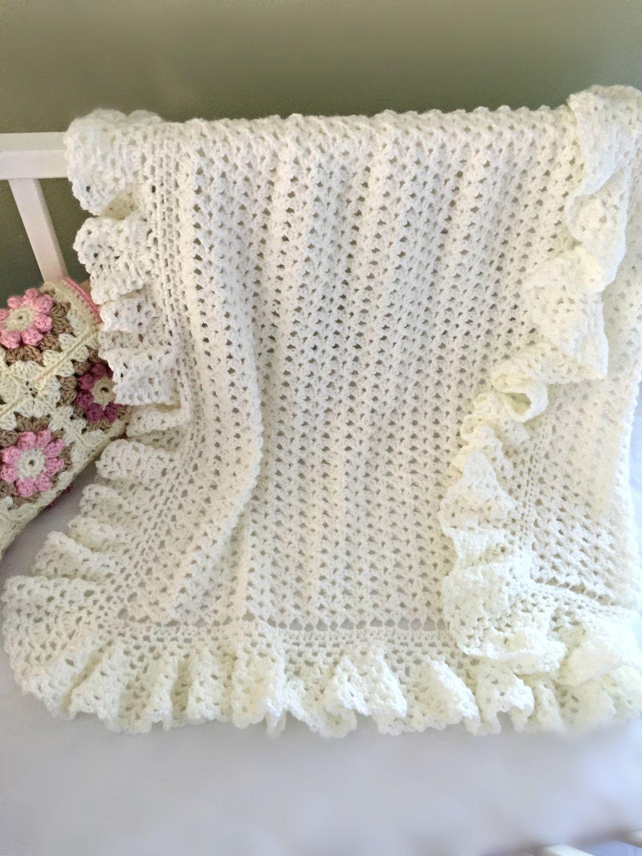Crochet Baby Blanket Pattern, Baby Blanket Pattern, Crochet Baby ...