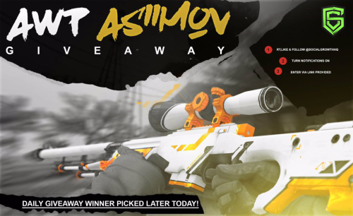 AWP Asiimov Giveaway 6/24 {??} via http://ift.tt/292No5d sweepstakes IFTTT reddit giveaways freebies contests