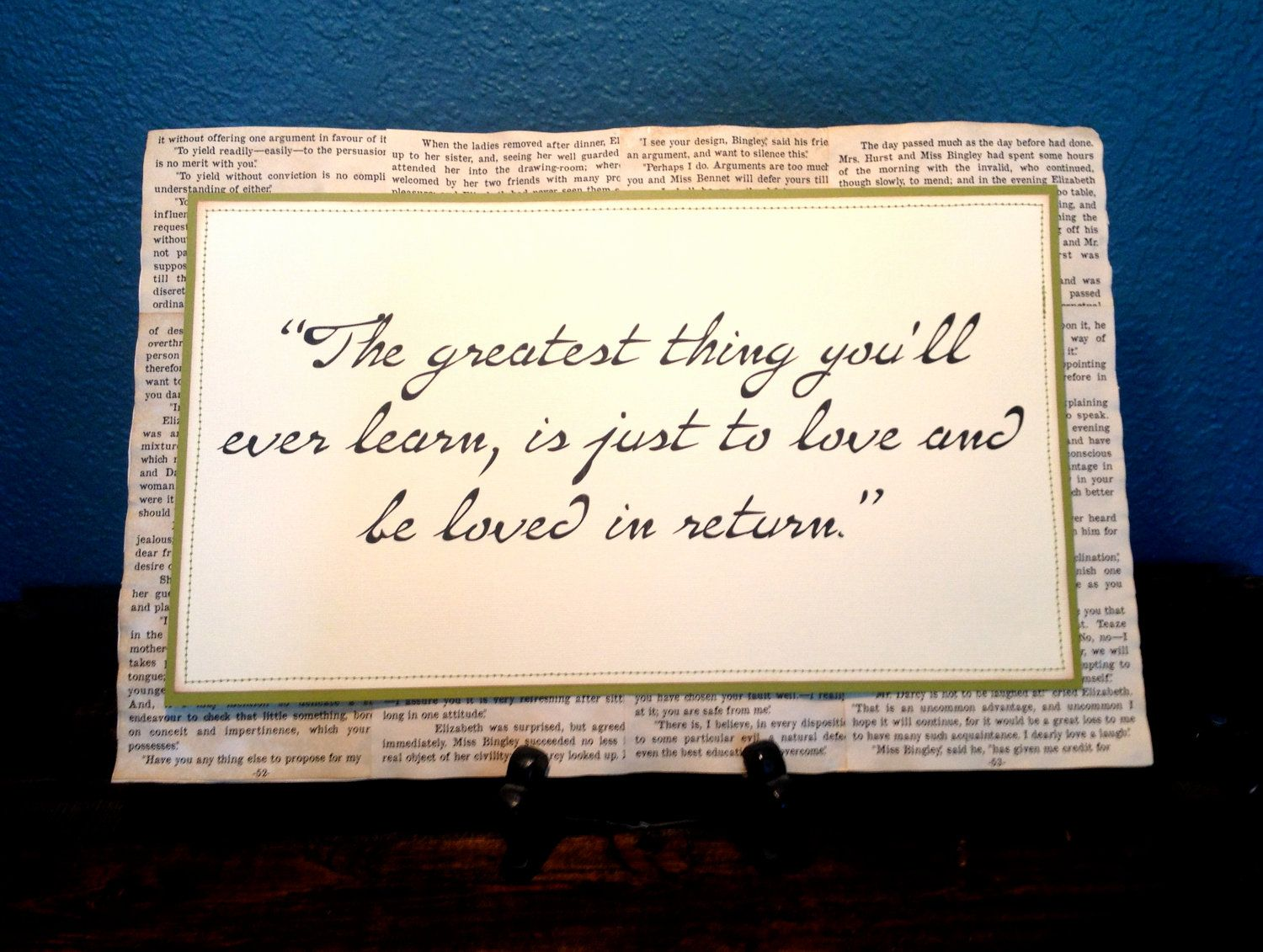 Return To Love Quotes The Greatest Thing You'll Ever Learn Is Just To Love And Be Loved