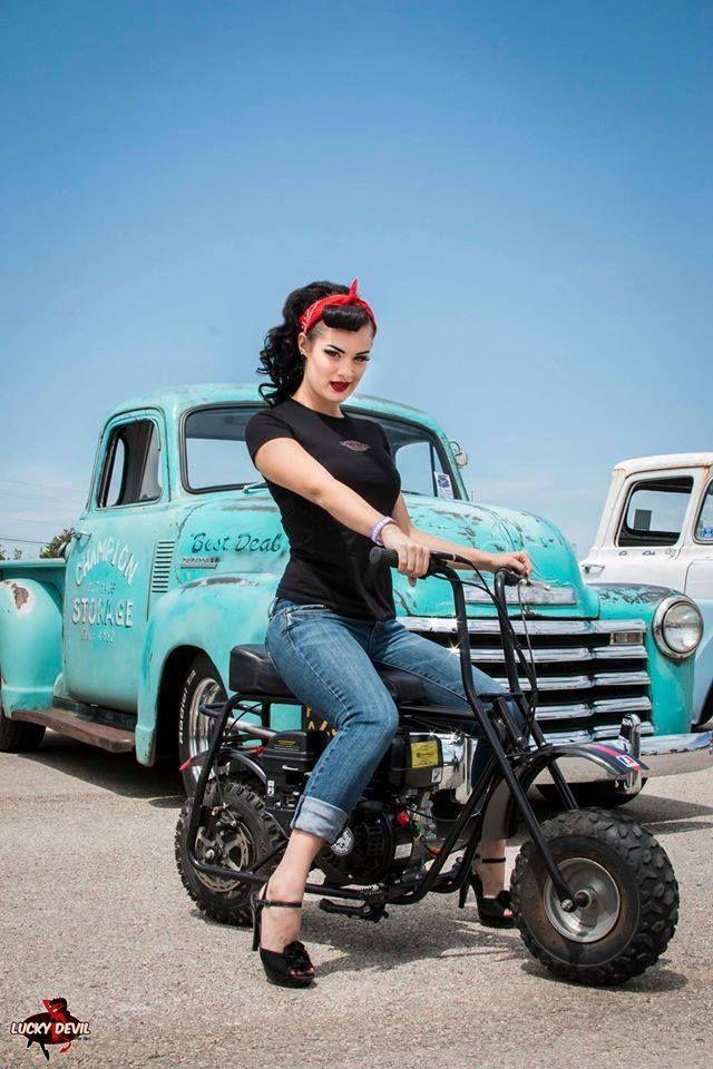 20141203 - Pin up : Kimber Fox Mode Rockabilly, Rockabilly Looks, Rockabilly Fashion, Retro Fashion, Rockabilly Outfits, Rockabilly Tattoos, Lady Biker, Biker Girl, Fotos Pin Up