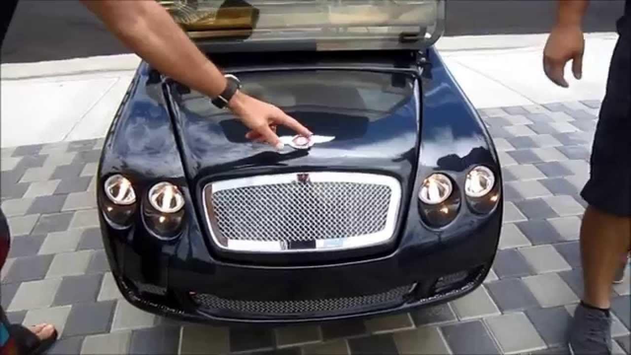The exciting brand new street legal cruser sport elec car amp golf cart - Bentley Golf Cart