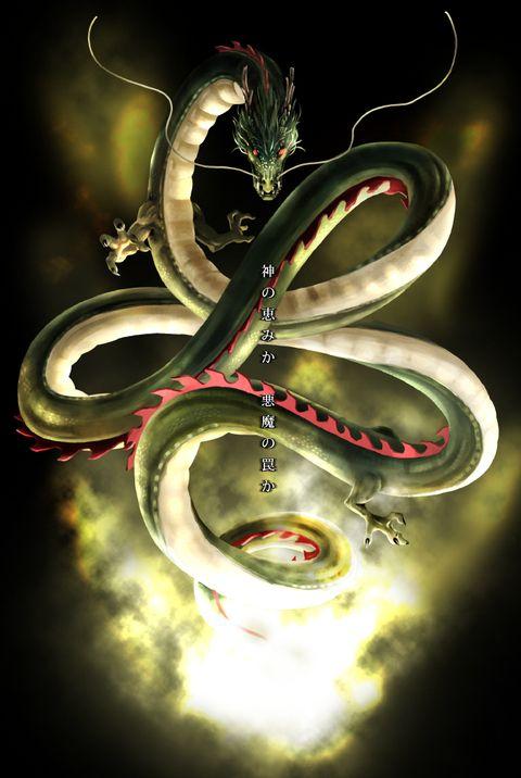 Dragon Ball Z Dbz Shenlong Shenron Anime Dragoes Anime Dragon Ball