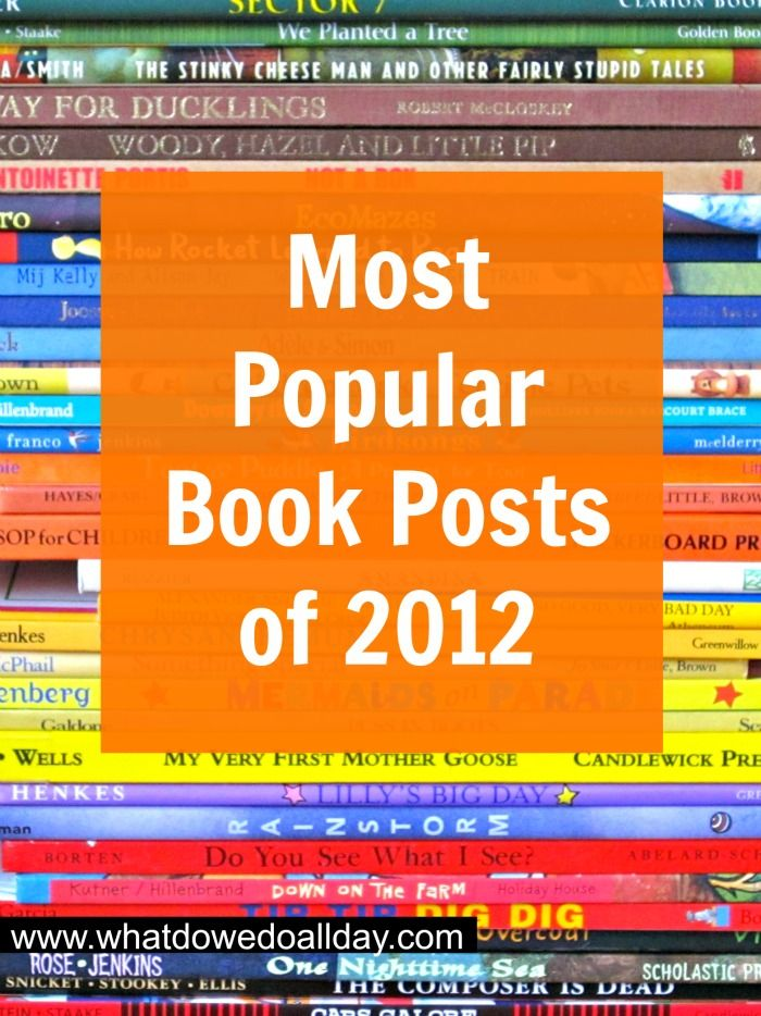 Photo of Most Popular Book Posts of 2012