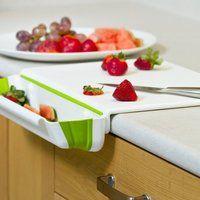 Collapsible Bin & Cutting Board - $25