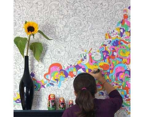 Interactive Wallpaper / Paint