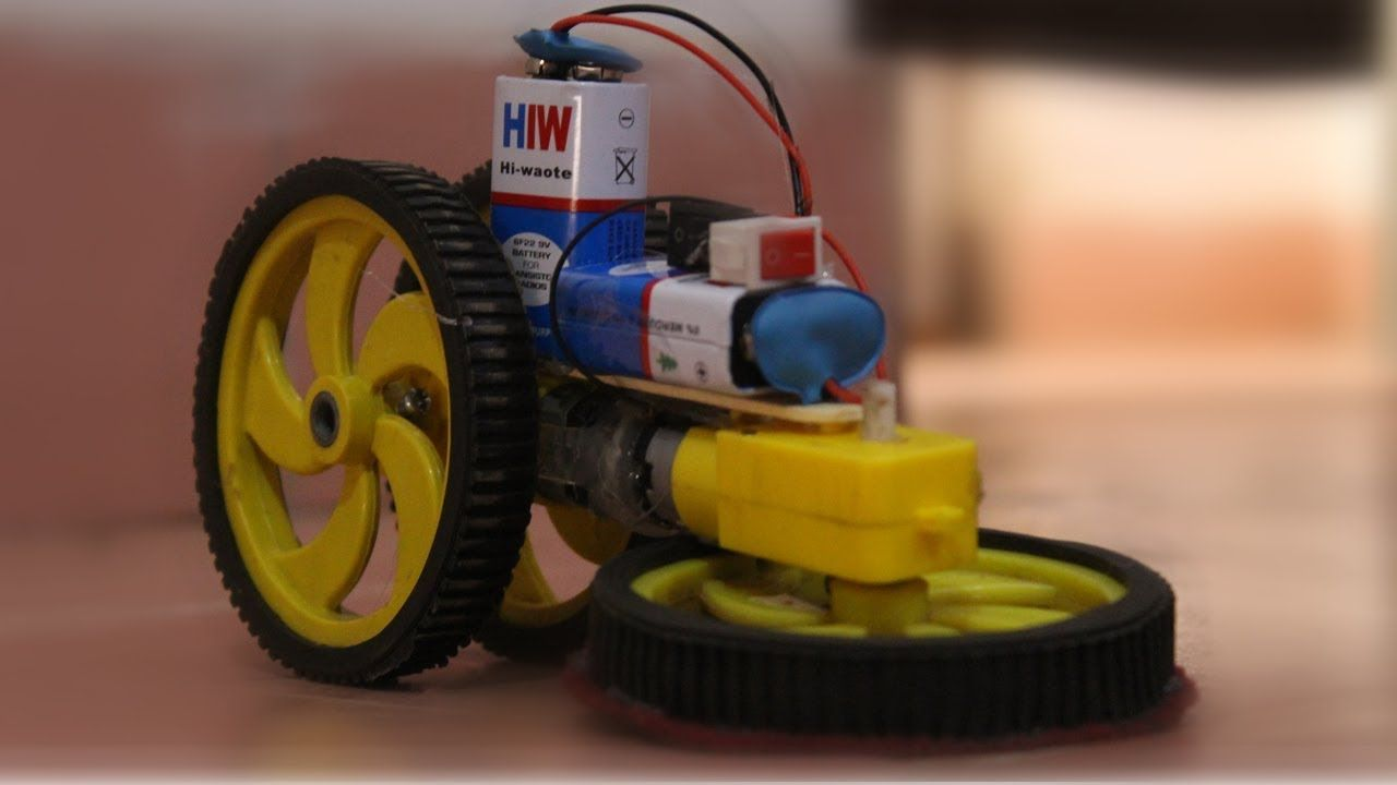 How To Make Automatic Floor Cleaning Machine At Your Home