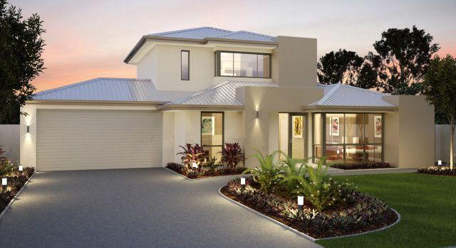 Thiết Kế Nha Tầng Sang Trọng Double Story House Double Storey House Plans House Plans