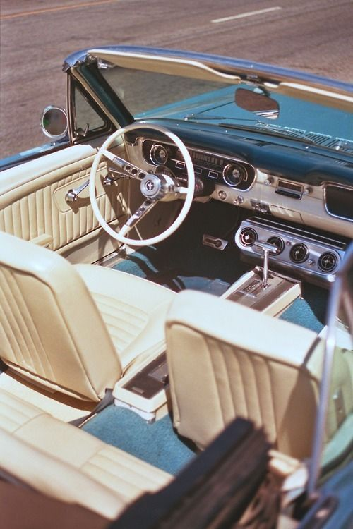 human-cliches: 1965 Mustang Convertible - POLO