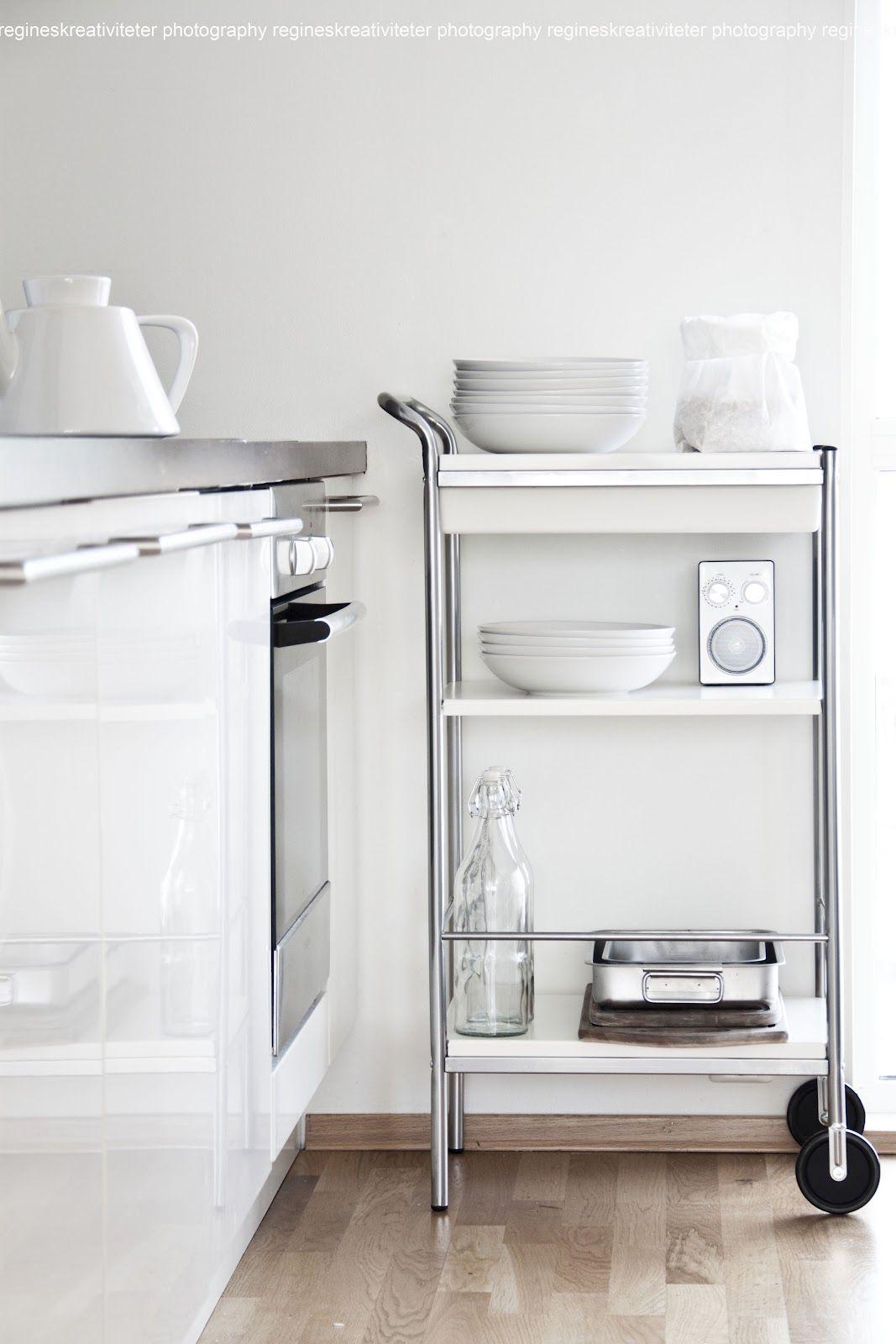 Simpre es necesario un mueble movil #carrito #cocina   cocinas ...