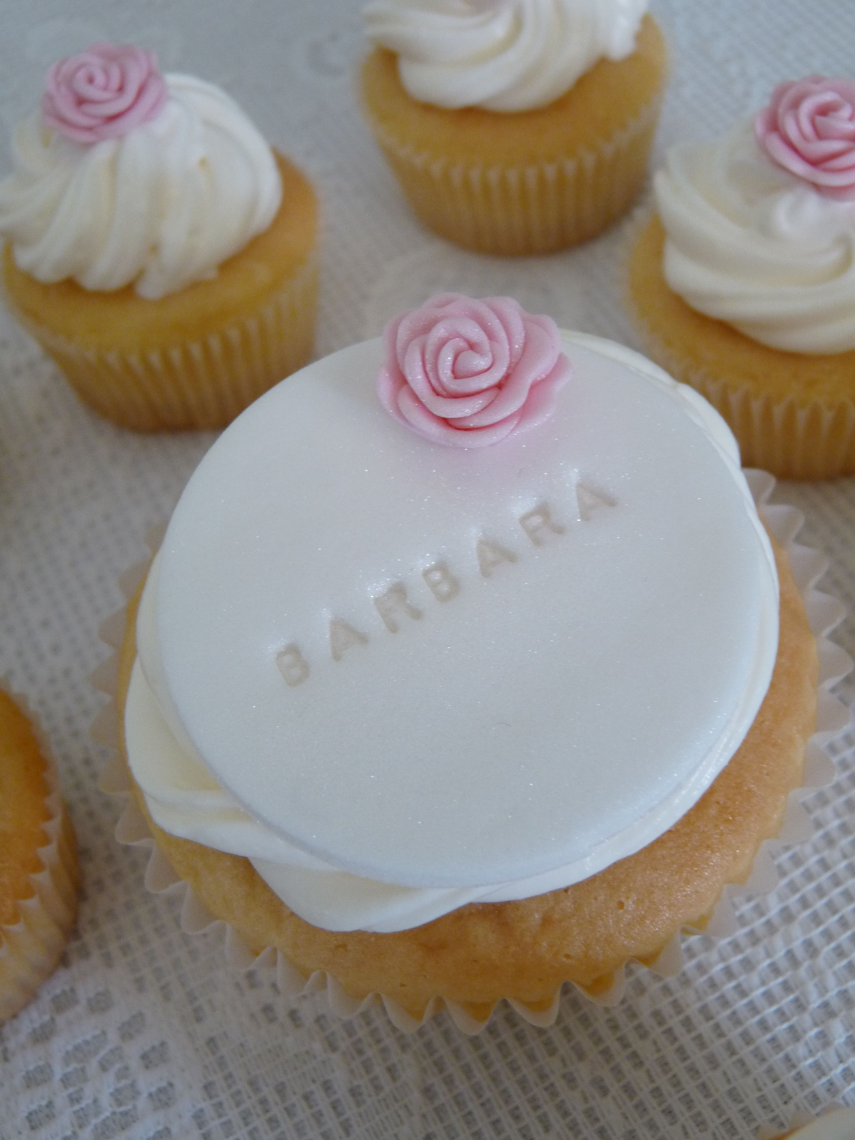Cupcakes Happy Birthday Barbara My Cakes Pinterest Happy - Birthday cake barbara