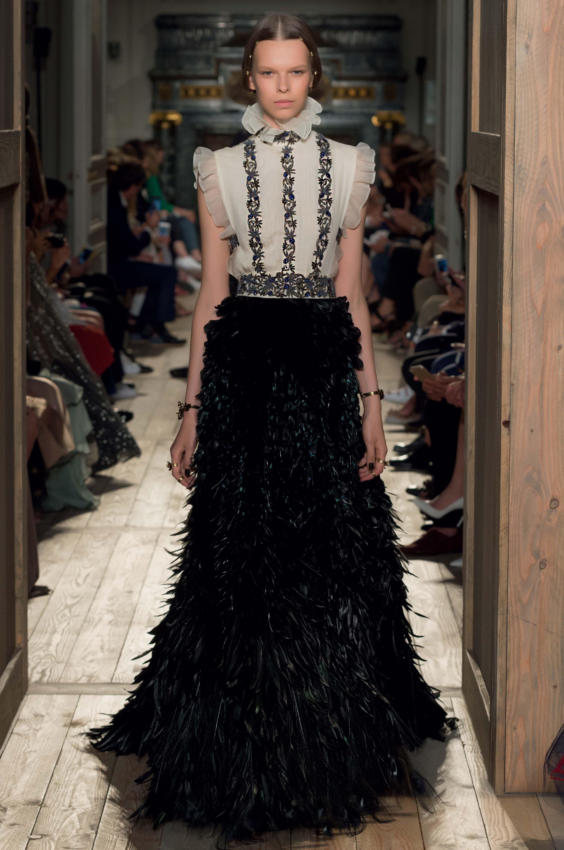 Haute Couture Valentino Couture 2016 Robe Black & White Style