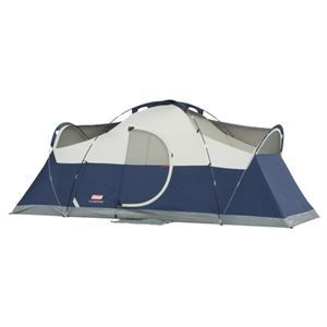Sportsmancity Tent 16x7 Elite Montana 8 W Led Family Tent Camping Cabin Tent Coleman Tent