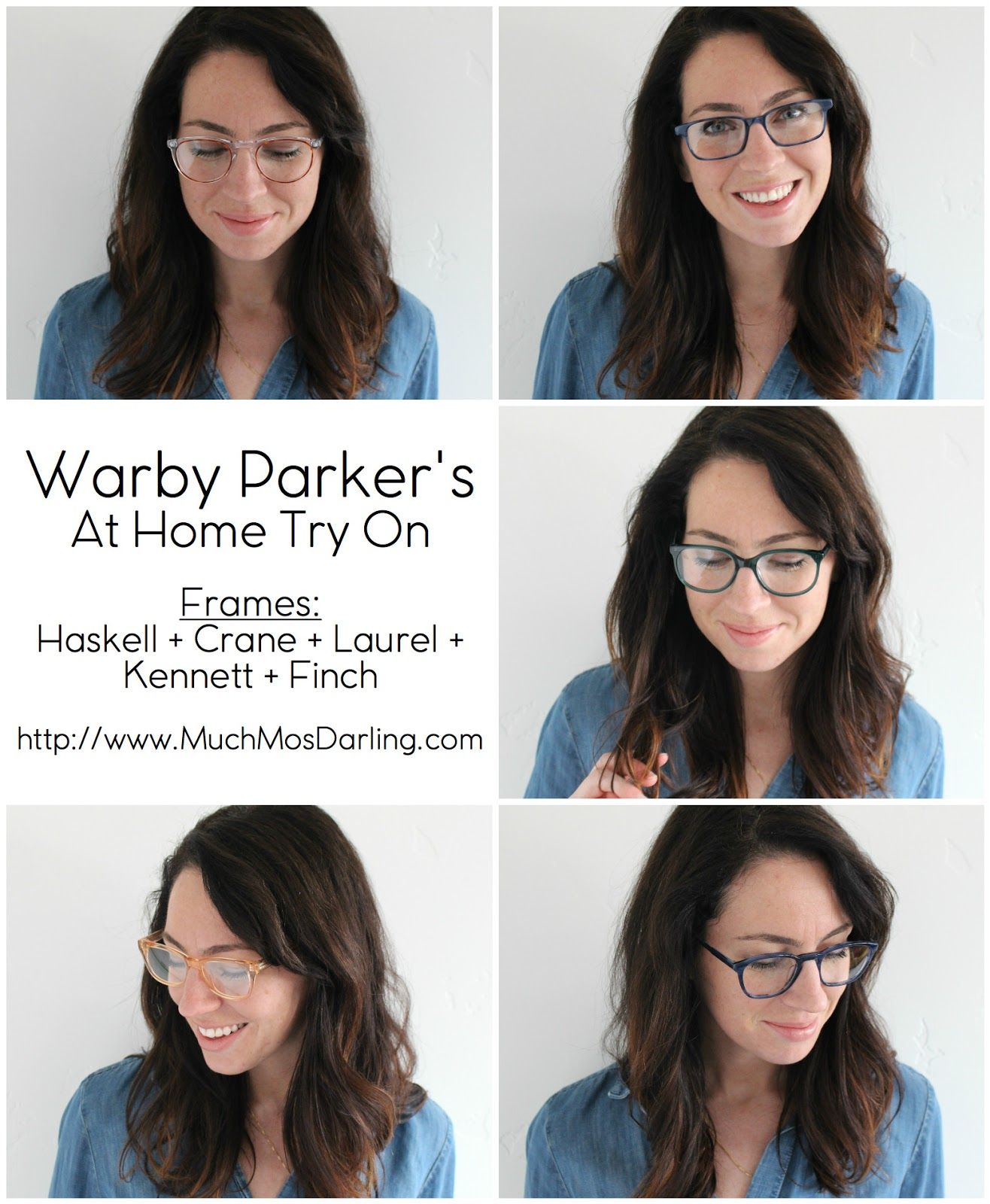 Warby Parker\'s At Home Try On Program #3 | Bellini, Crystals and Spring