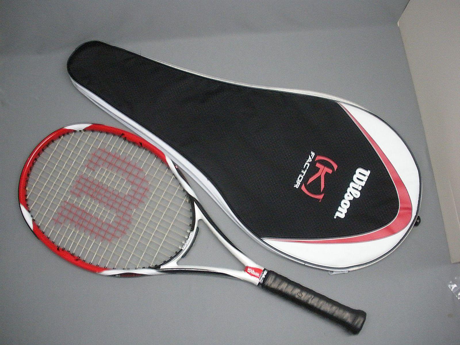1a89eae9b6c2 Wilson K Factor Bold (K) Arophite Black Tennis Racquet 4 1 4