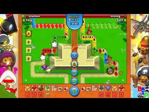 Bloons TD Battles Speed With Fire Nice Battle