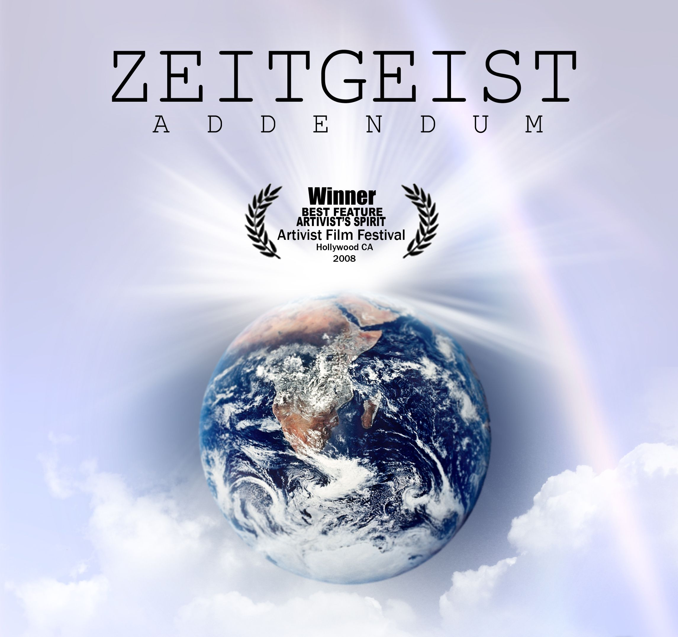 Zeitgeist Addendum today's movie choice Netflix Movie