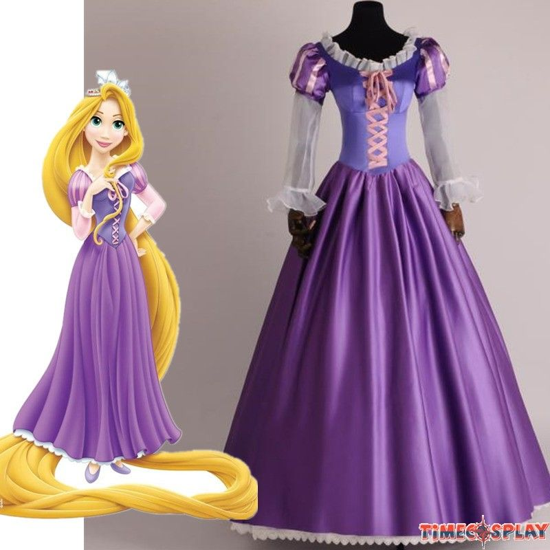New Disney Store Princess Rapunzel Tangled The Series Halloween Costume Dress Up