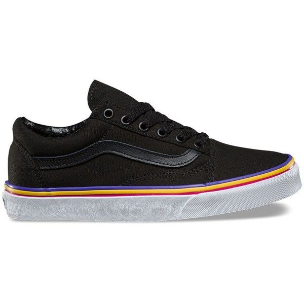 Vans Rainbow Foxing Old Skool ( 55) ❤ liked on Polyvore featuring shoes eddf43d90fa4