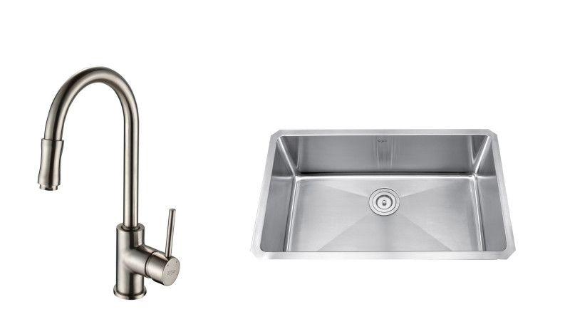 Kraus Khu100 30 Kpf1622 Ksd30 Sink Faucet Soap Dispenser