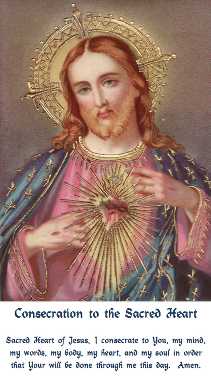 Consecration to the Sacred Heart