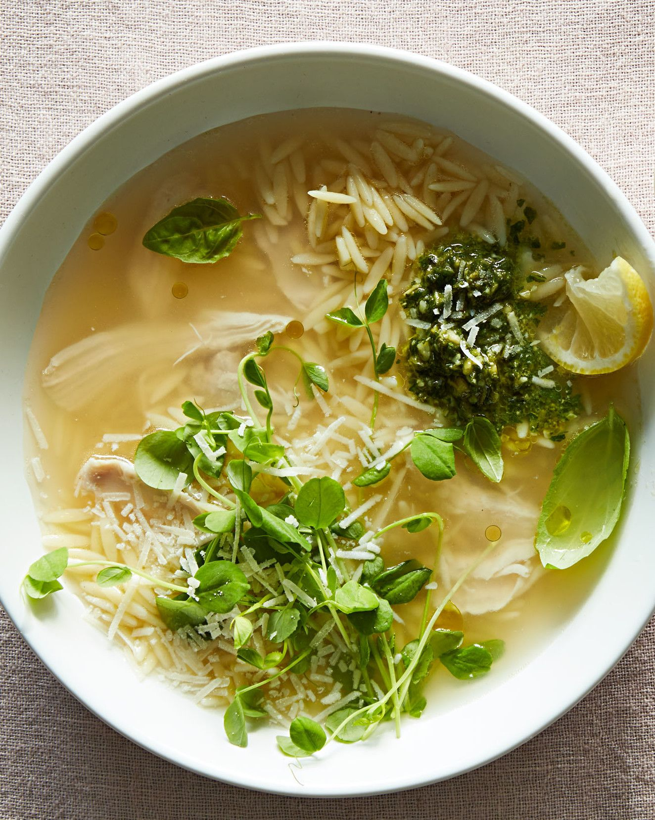 How to lighten the broth