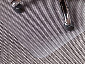 Bodenschutzmatte Mellgarda, 150x120cm, ohne Noppen, für Hartböden