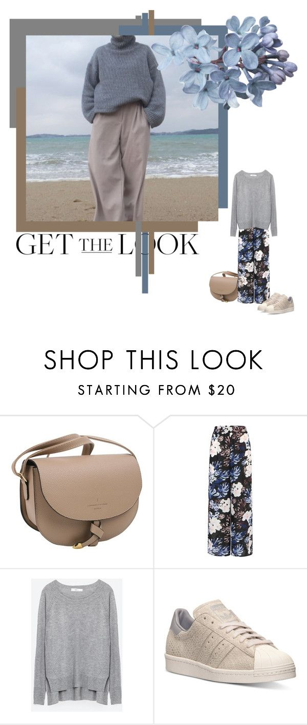 """#getthelook"" by izoche ❤ liked on Polyvore featuring Zara and adidas"