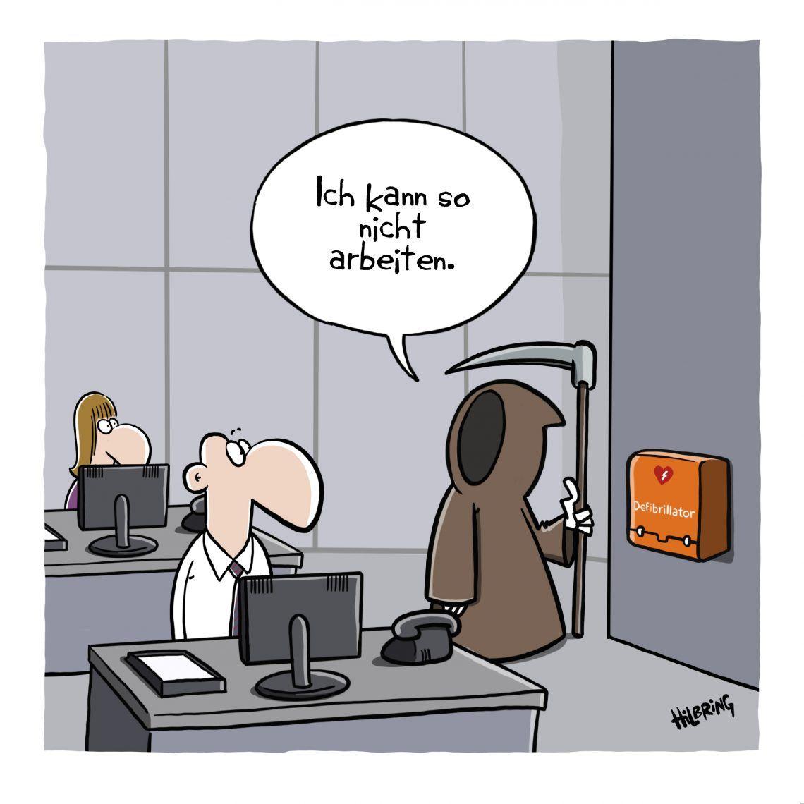 Mobbing … | SCHÖN DOOF! | Mobbing, Comics lustig, Cartoon