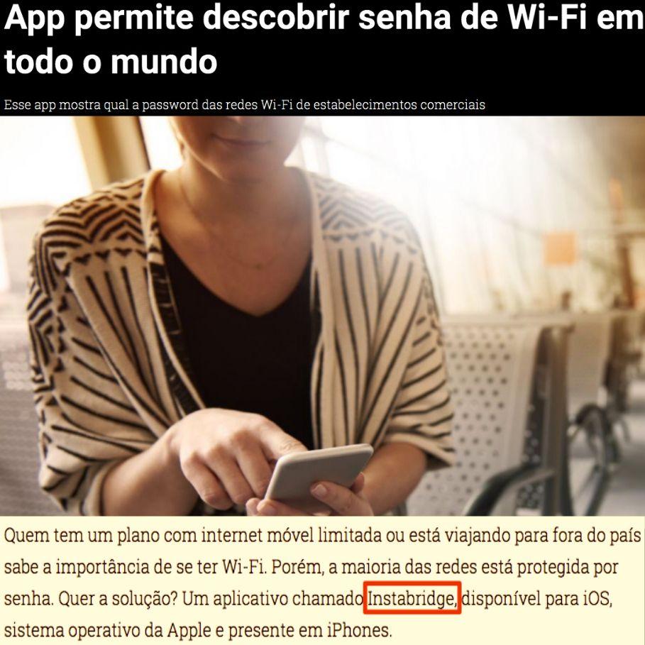 App Permite Descobrir Senha De Wi Fi Em Todo O Mundo Internet