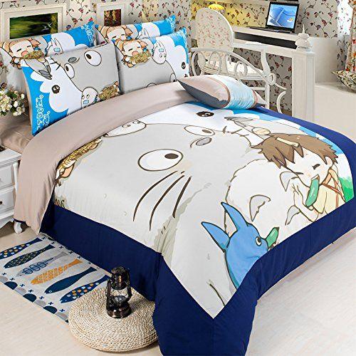 Totoro Bed Set: Pin By Fah Yanika🎏 On Totoro