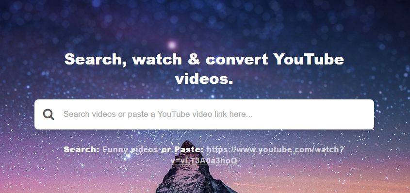 Fetchy - Free YouTube to MP3 or MP4 Converter and Downloader