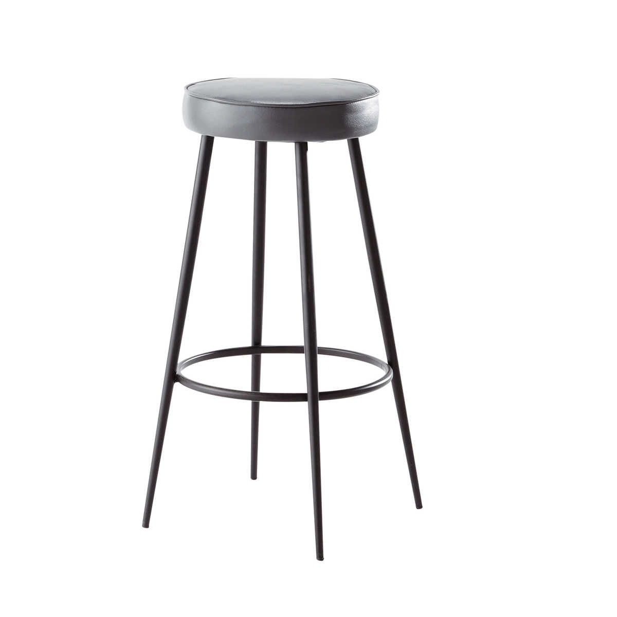 charcoal grey bar stool caps k i t c h e n chaise bar. Black Bedroom Furniture Sets. Home Design Ideas