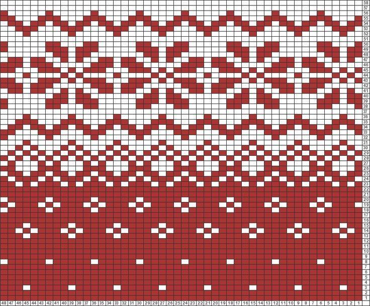 Resultado de imagen de free fair isle pattern charts | วายู ...