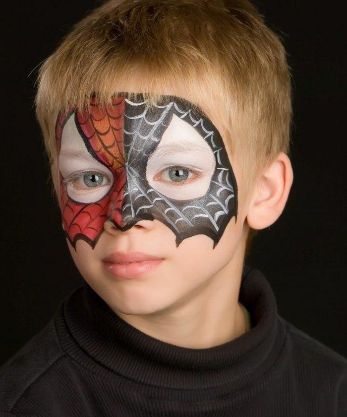 Halloween Gesichter Kinderschminken.Pin Auf Halloween