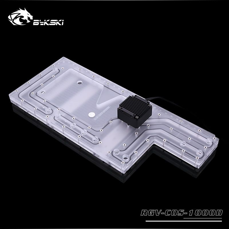Bykski Acrylic Board Water Channel Solution Use For Corsair 1000d