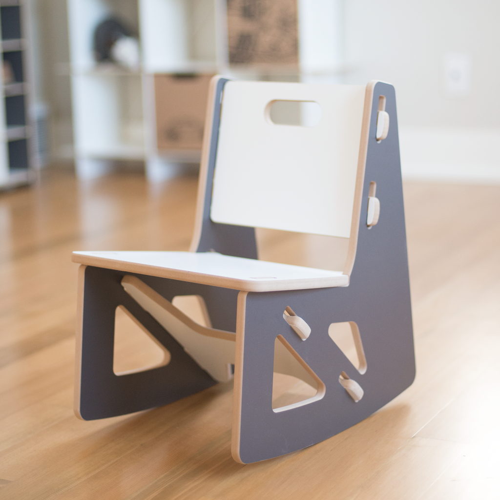 modern playroom furniture. Modern Grey Kids Rocking Chair By Sprout Playroom Furniture I