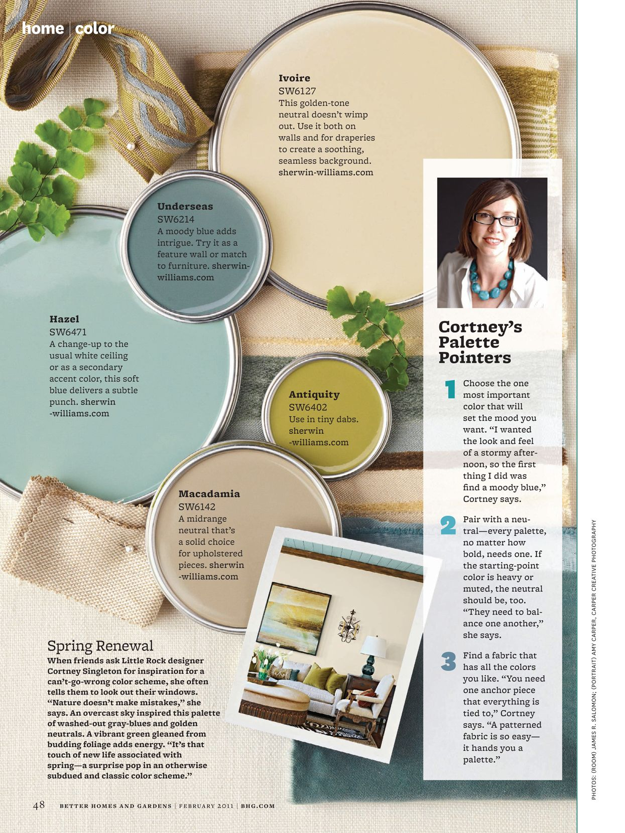 Better Homes And Gardens February 2011 Page 48 49