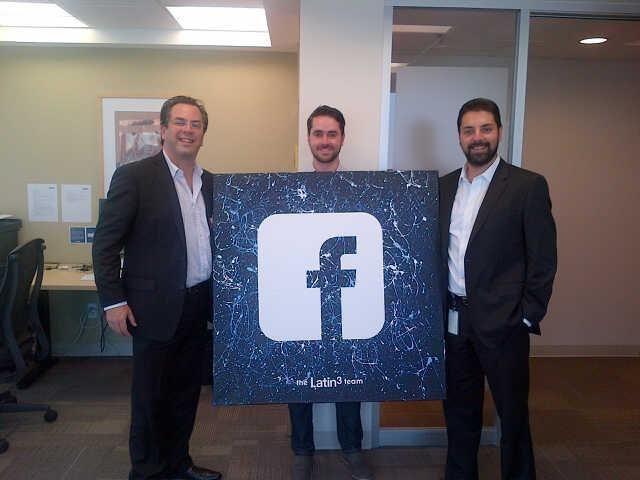 Visitamos las oficinas de Facebook en México. Gracias Antonio Exsome, Director Comercial y Rodrigo Vicke, Client Partner por recibirnos
